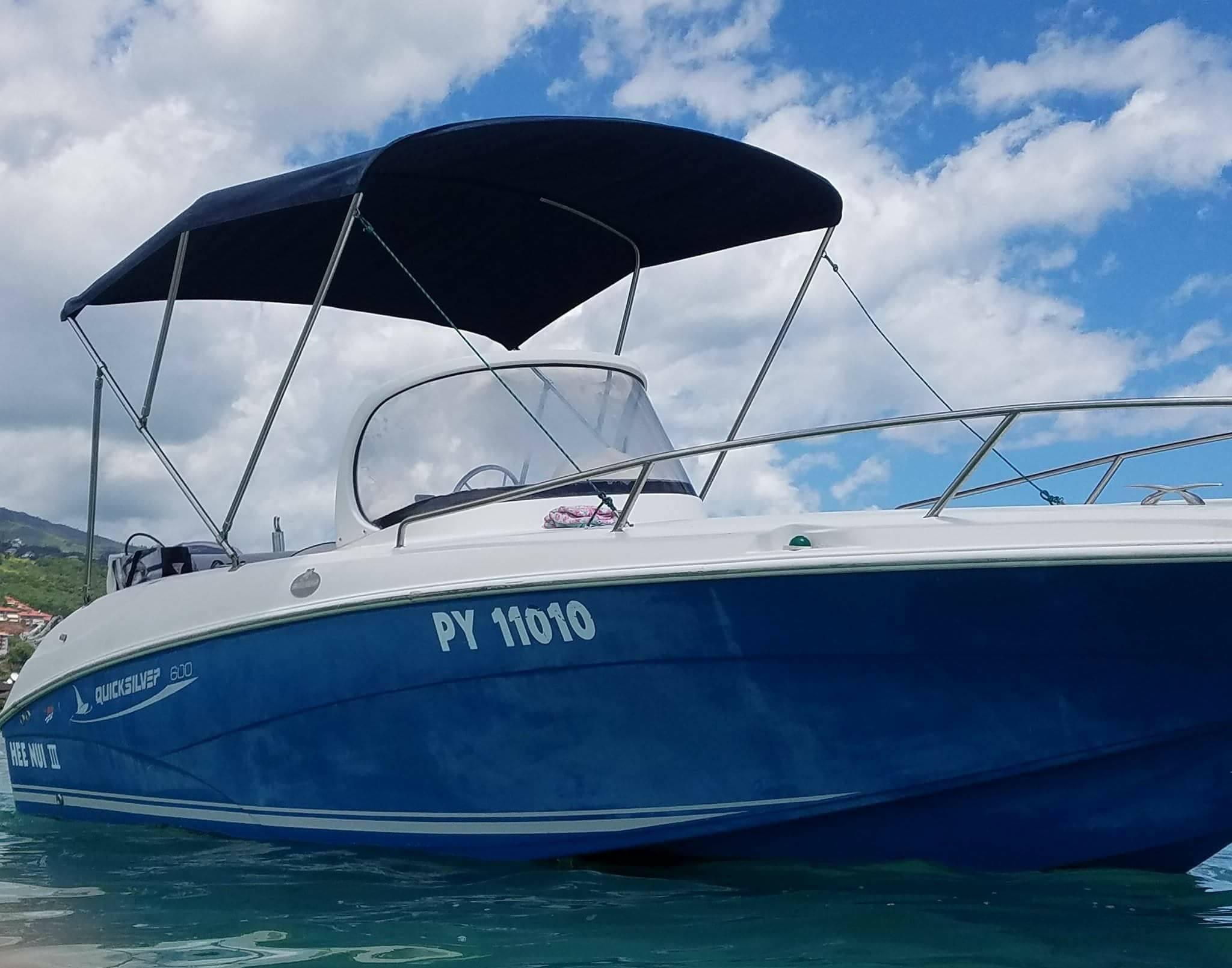 location bateau quicksilver